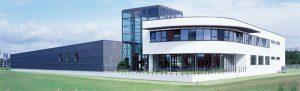 Die Firmenzentrale der Heinrich Hecker AG & Co. Kommanditgesellschaft