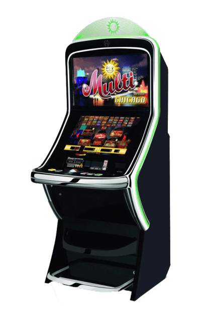 Multi Game Geldspielgerät Merkur Ideal Vision Slant Top