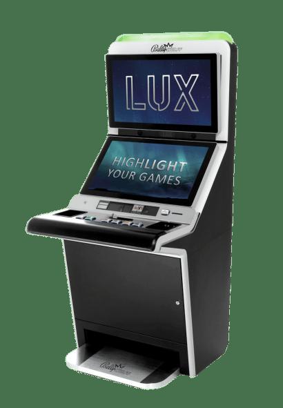 Multi Game Geldspielgerät Bally Wulff LUX SLANT